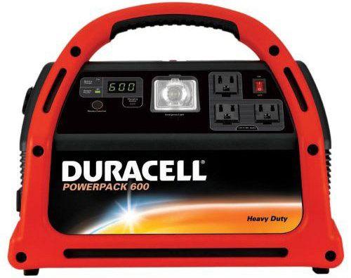Duracell Dpp 600hd Powerpack 600 Jump Starter Emergency Power