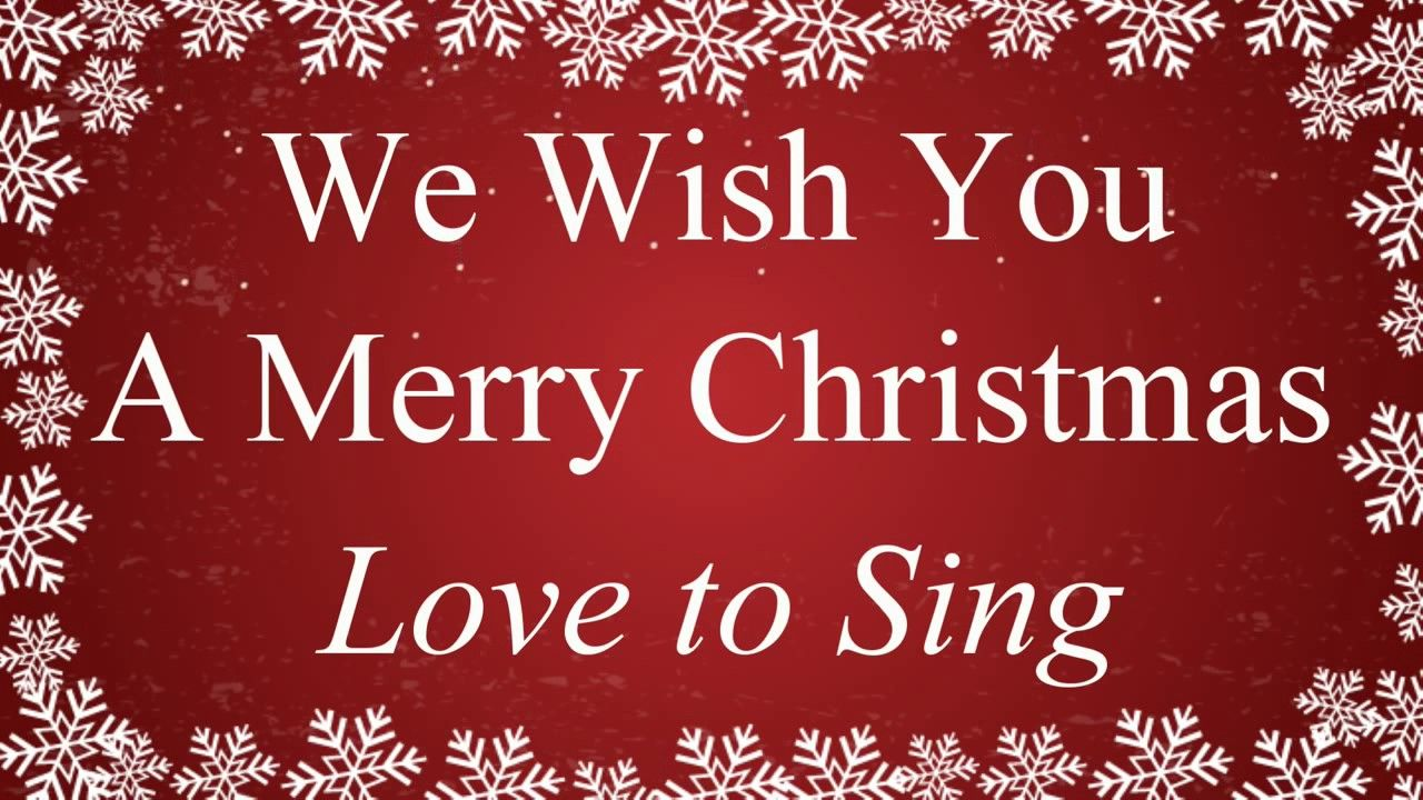 Christmas Carols playlist with Lyrics Non Stop Medley: Merry Christmas S... | Merry christmas ...