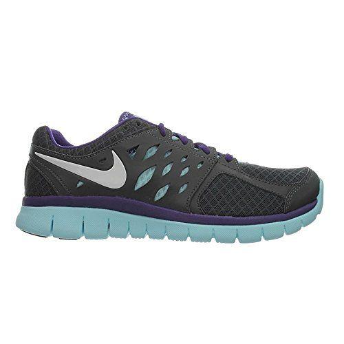Nike Wmns Flex 2013 Run MSL – 580441017 – Color Black-Blue – Size: