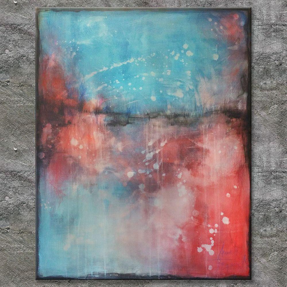 acrylbilder l abstrakt regenbogen malerei moderne kunst pop art thomas köhler berlinische galerie