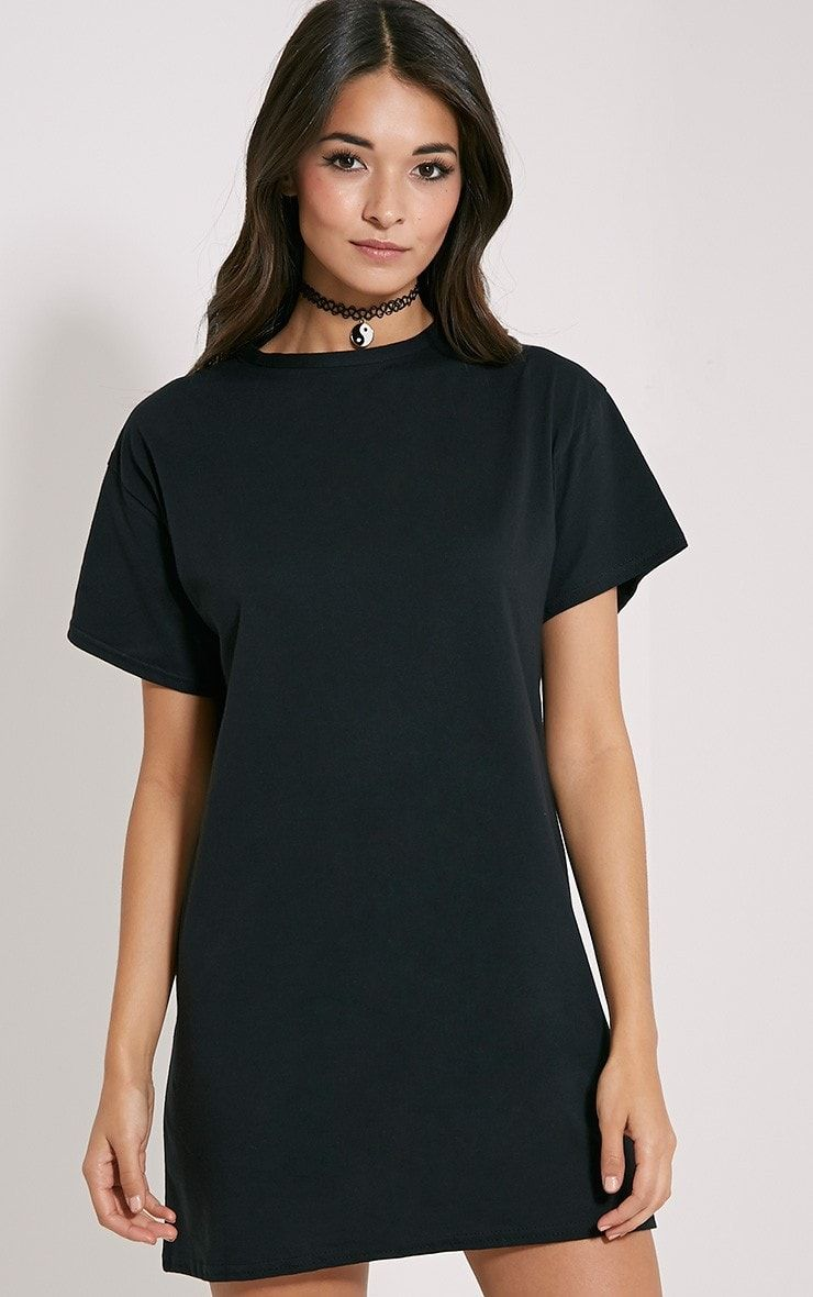 Flannel into dress  Oversized tshirt dress in black  Wedding dress  Pinterest