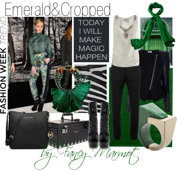 """Emerald"" by fancymarot on Polyvore"
