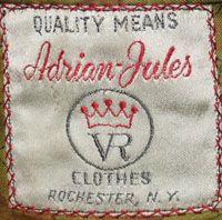 Label Resource Adrian Jules Ltd