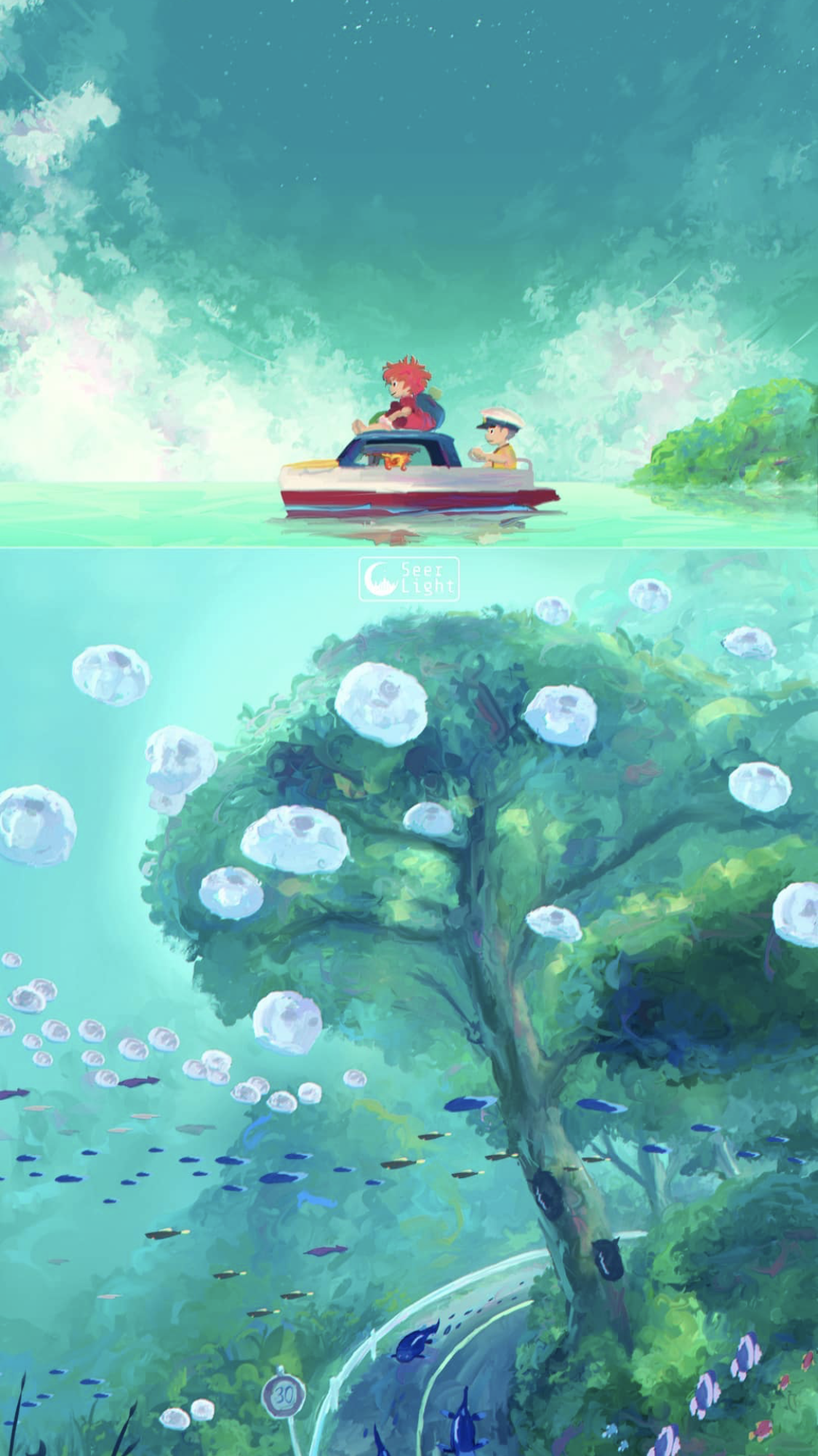 creds to Seerlight on insta in 2020 Ghibli artwork