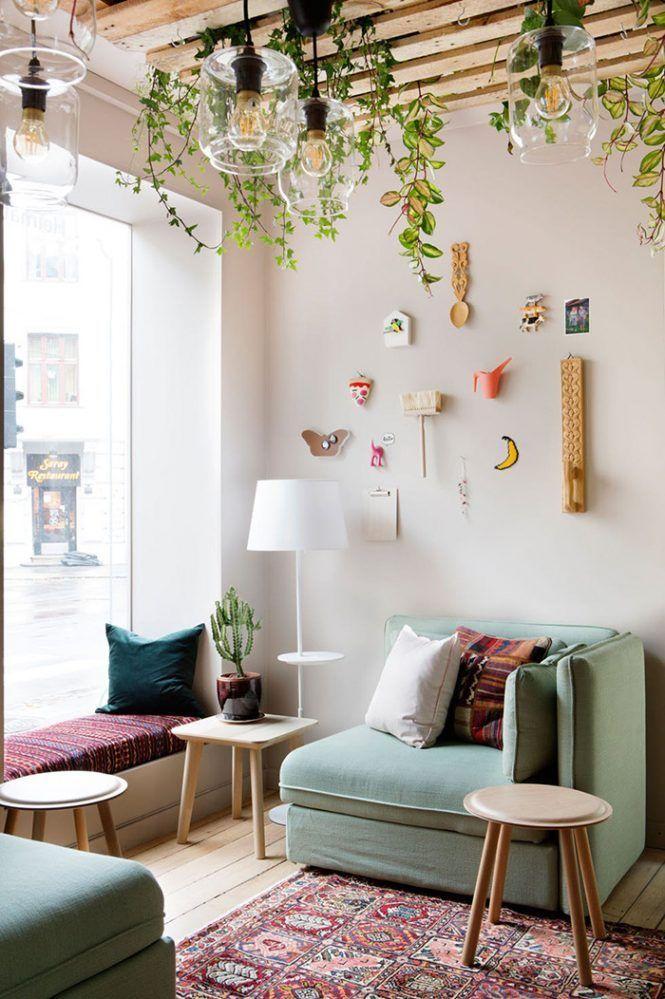 Post: Heimatt: un nuevo concepto de café en colaboración con IKEA --> Coffee Shop in Oslo, decoración bares, decoración cafeterías, decoración coworking, decoración ikea, decoración interiores, decoración locales comerciales, estilo escandinavo, estilo nórdico, Heimatt Løkka