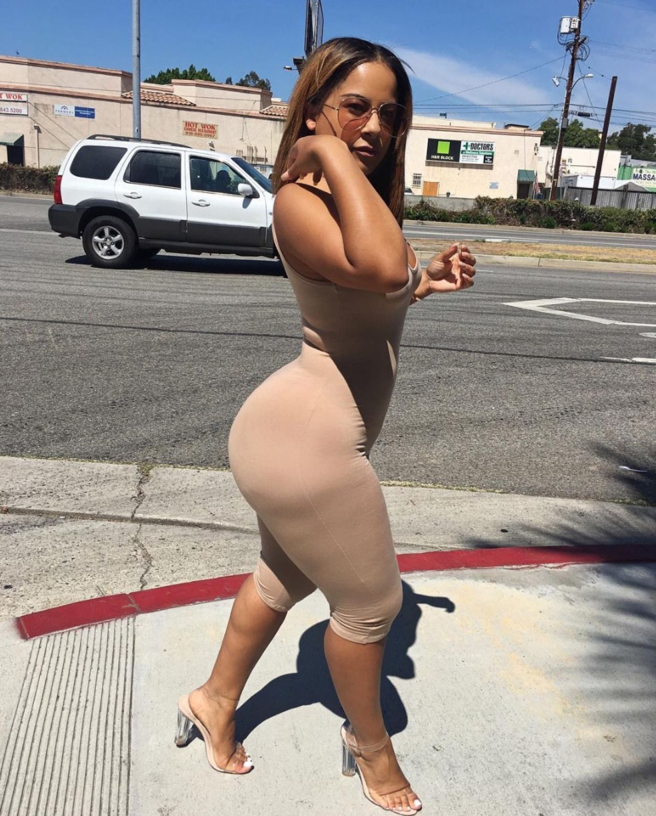 Big butt puerto rican