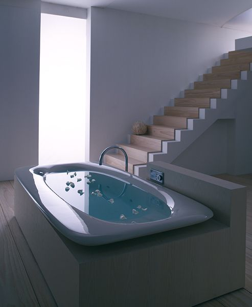 The Kohler VibrAcoustic Bathtub has it all! You get to soak in the ...