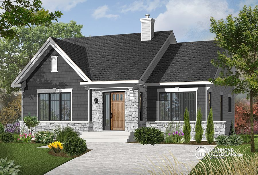 House plan W3127 detail from DrummondHousePlanscom