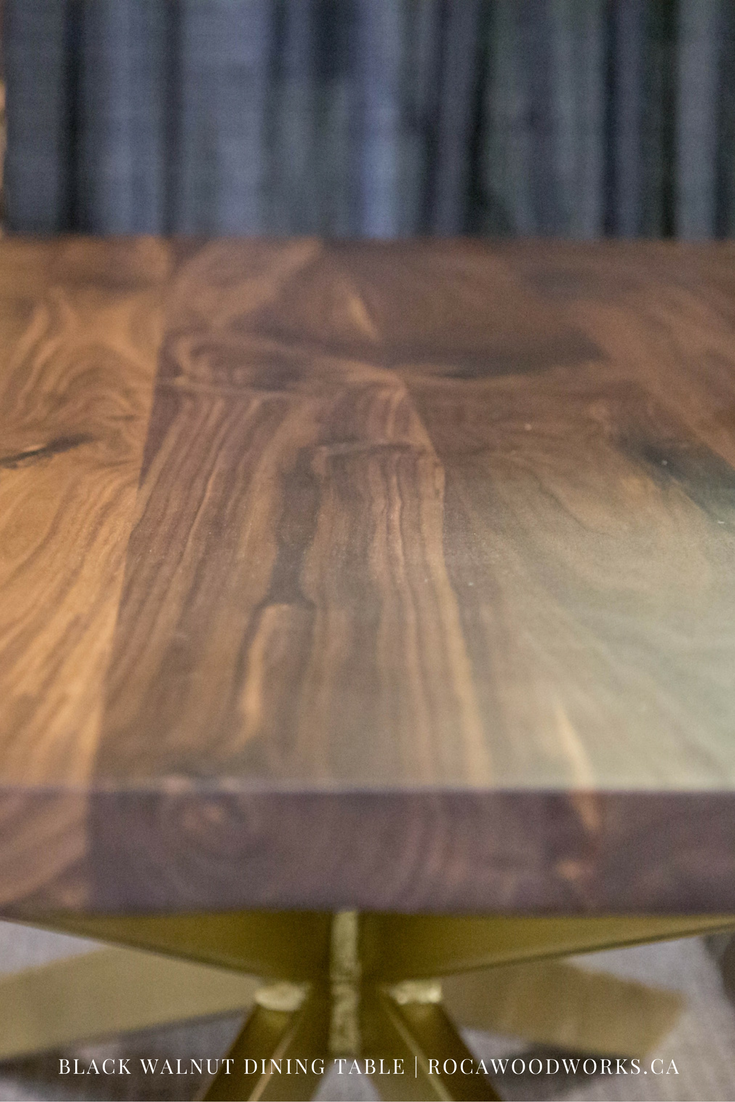 black walnut dining table stuff to buy pinterest walnut dining