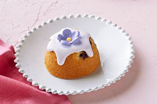 As they do with most recipes, muffin pans turn a wonderful recipe into a dish that's wonderful—and adorable! Get out the blueberries and give these a try.