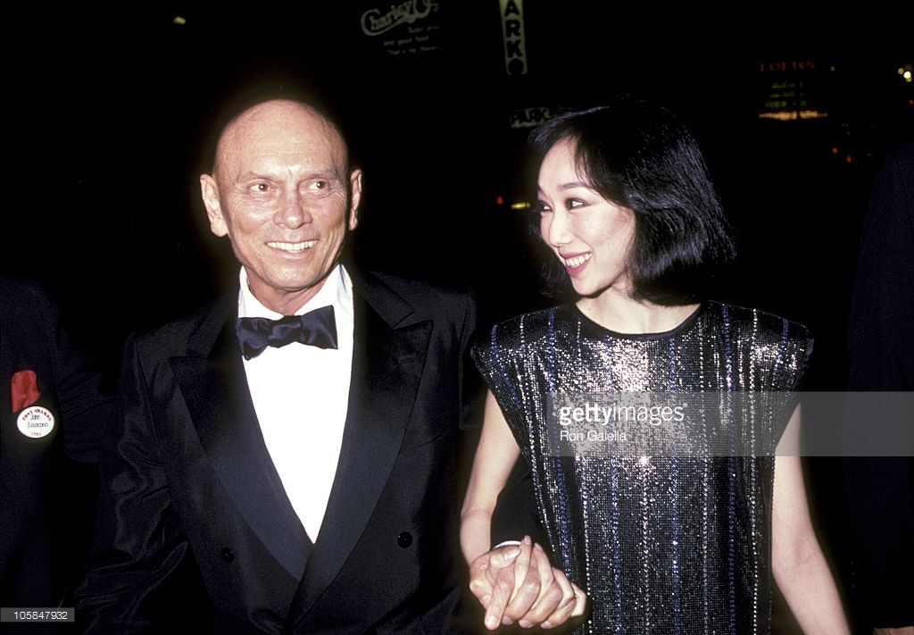 Yul Brynner and wife Kathy Lee during 39th Annual Tony Awards at... News Photo | Getty Images