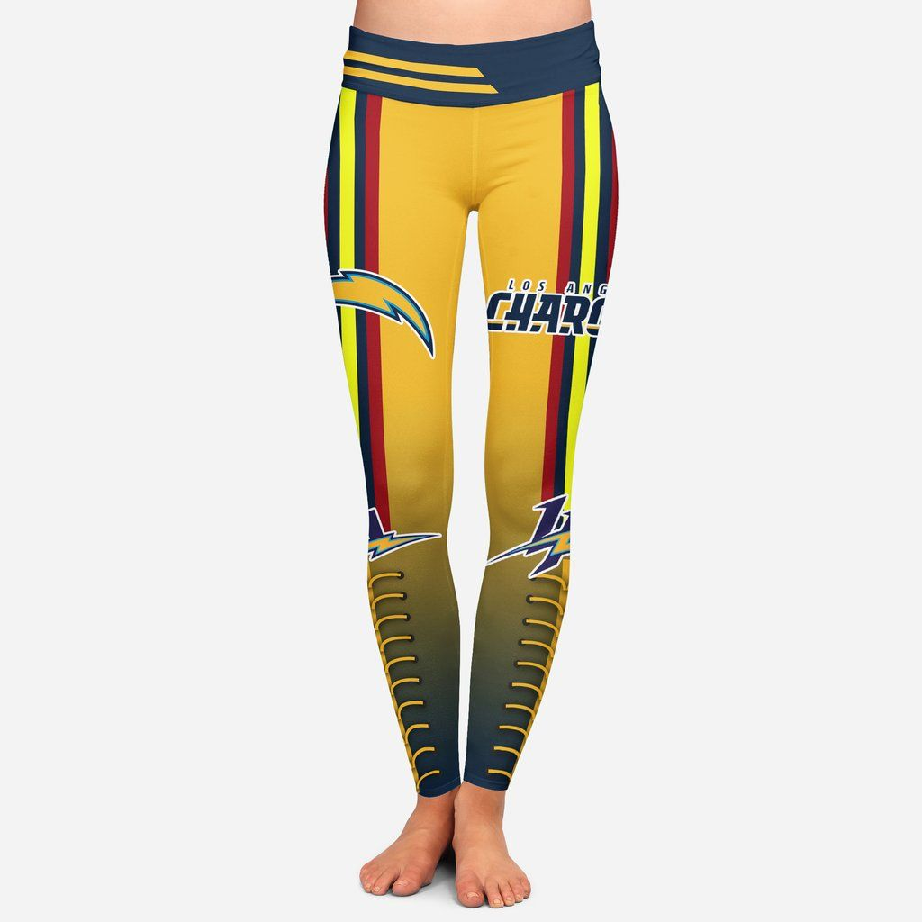 f8b8d6abcdb9b Twins Logo Los Angeles Chargers Leggings For Fans – Best Funny Store