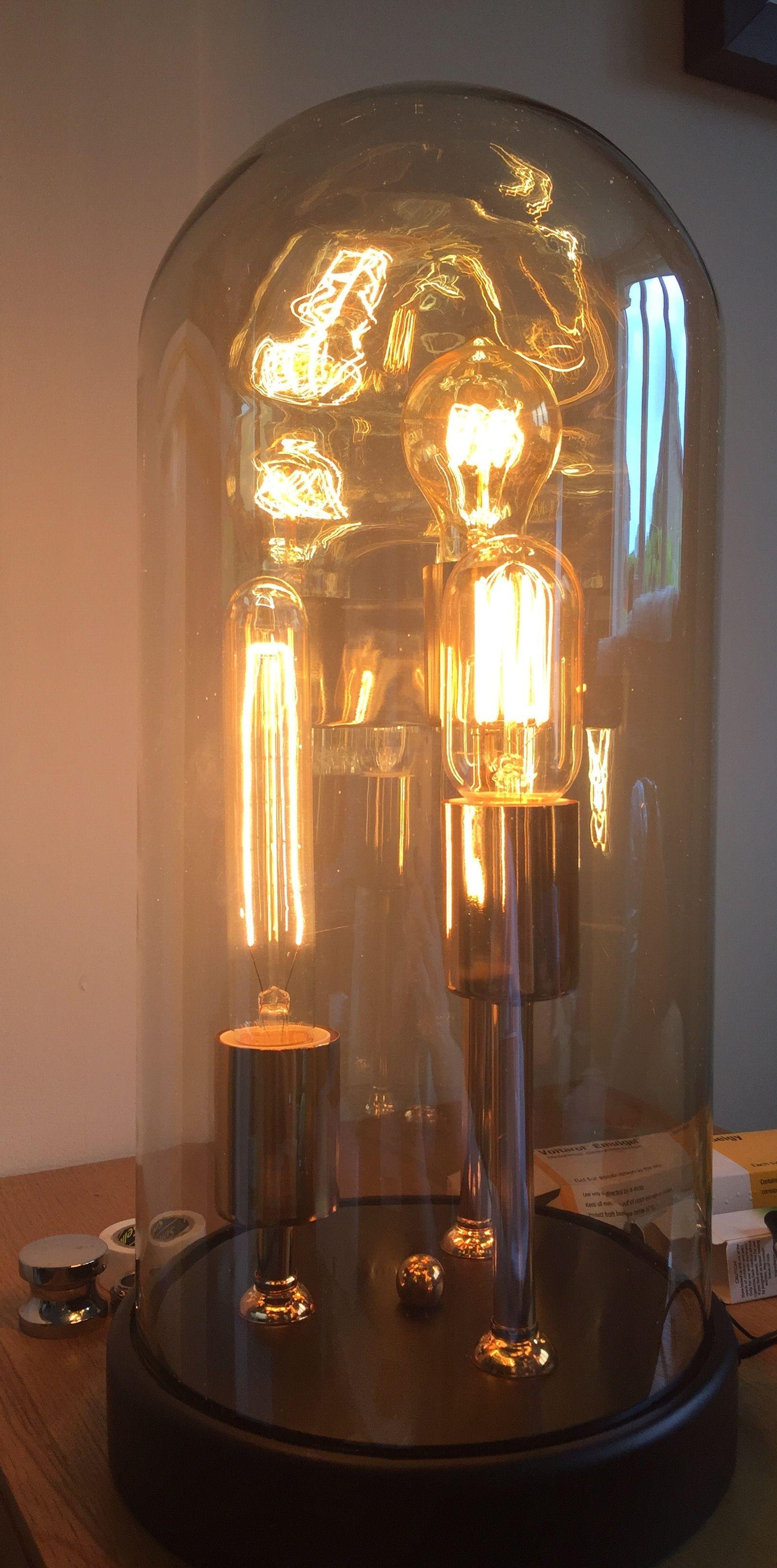 Pin by Kim Eastop on Living room   Edison light bulbs ...