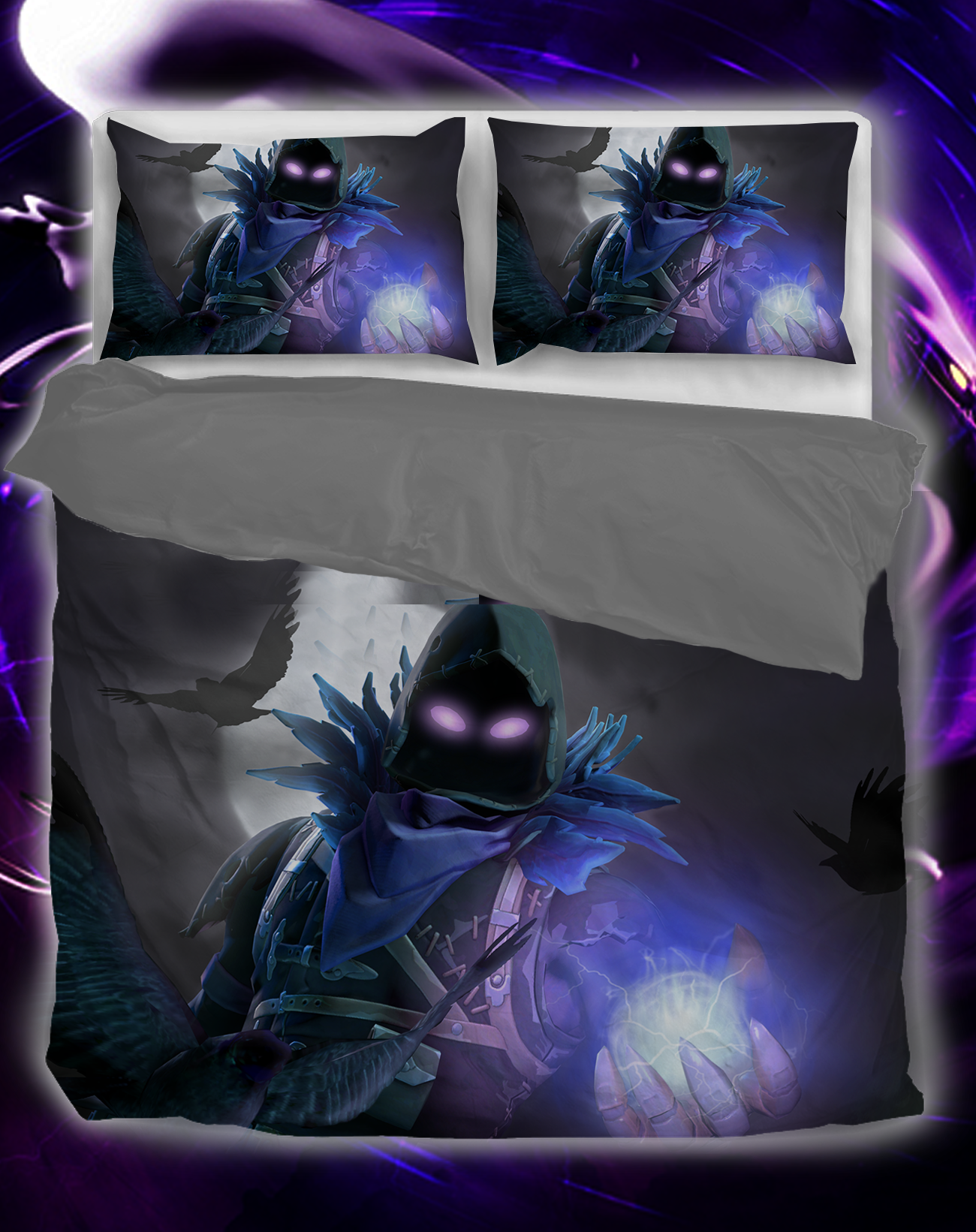 Fortnite Bedset Fortnite Raven Magic 3d Bedset Fortnite Bedding