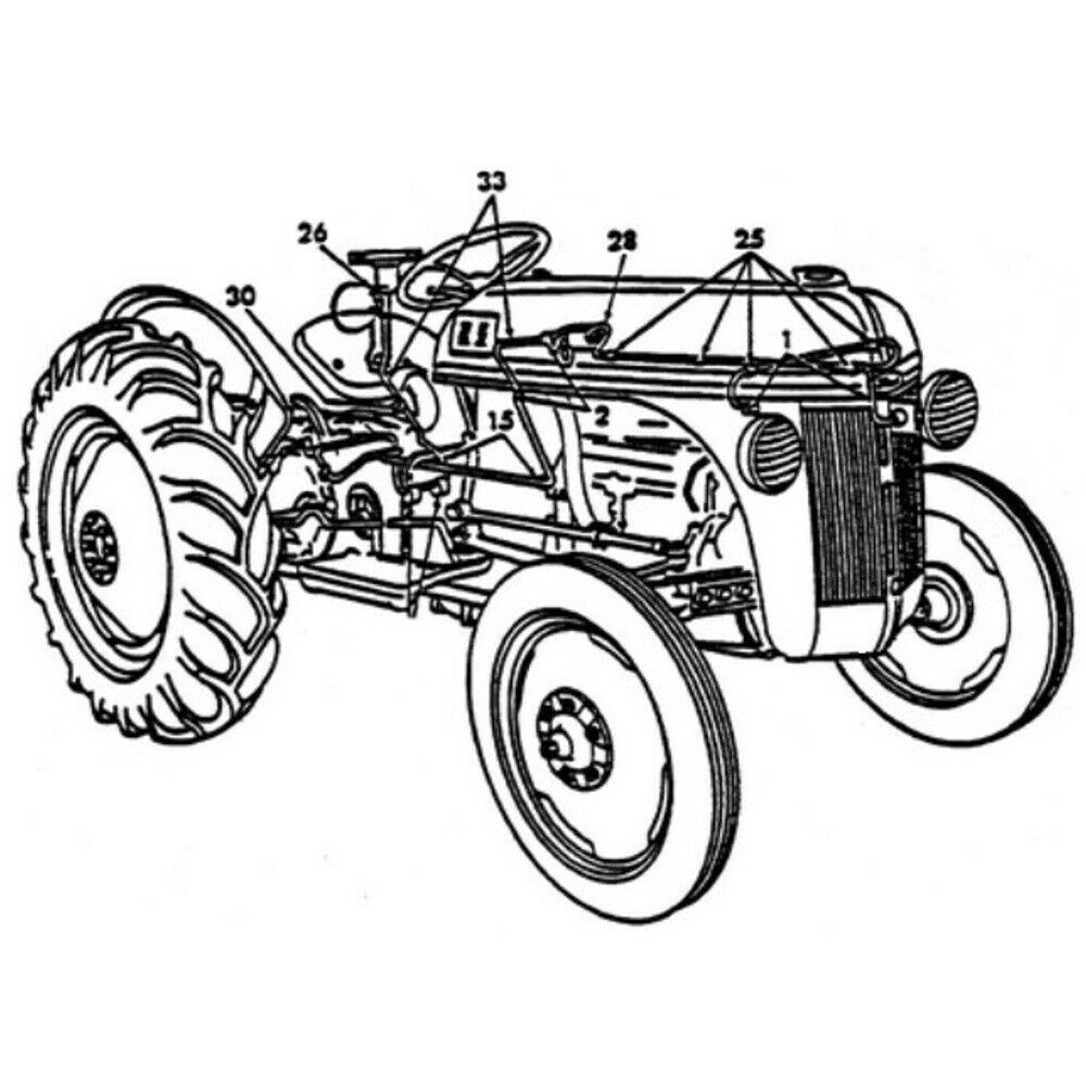 (Sponsored)(eBay) Entire Tractor Rebuild Kit All Necessary