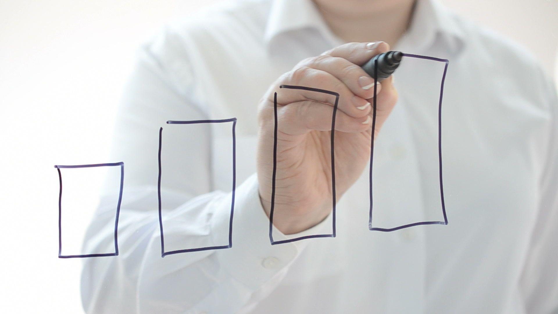 We draw business of graphics. #leadership #sales #statistics #grow ...