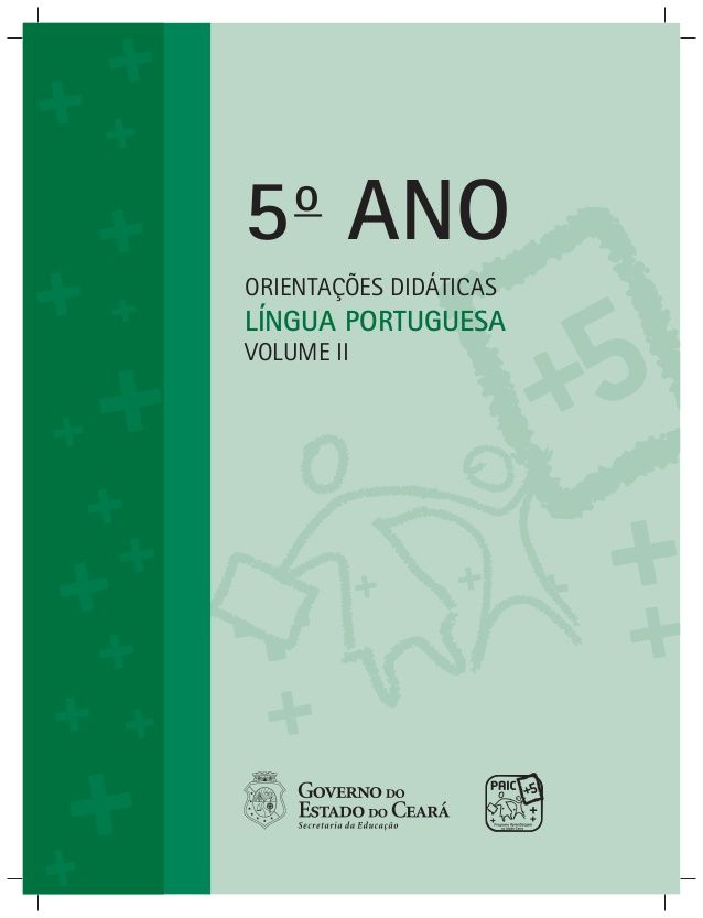 Orientacoes Didaticas Do Professor Vol Ii Livro De Portugues