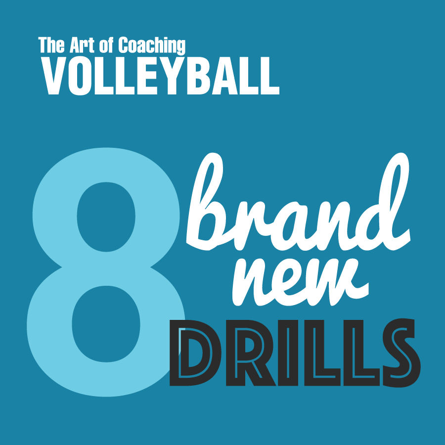Playlist 8 Brand New Drills The Art Of Coaching Volleyball Coaching Volleyball Volleyball Workouts Volleyball Tryouts