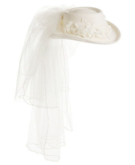 Felt Western Wedding Hat