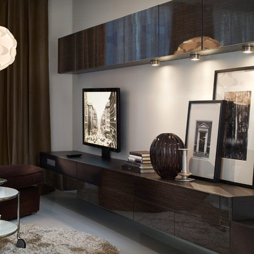 best aufbewahrung mit uppleva 40 39 39 fernseher ikea uppleva clever pinterest wohnzimmer. Black Bedroom Furniture Sets. Home Design Ideas