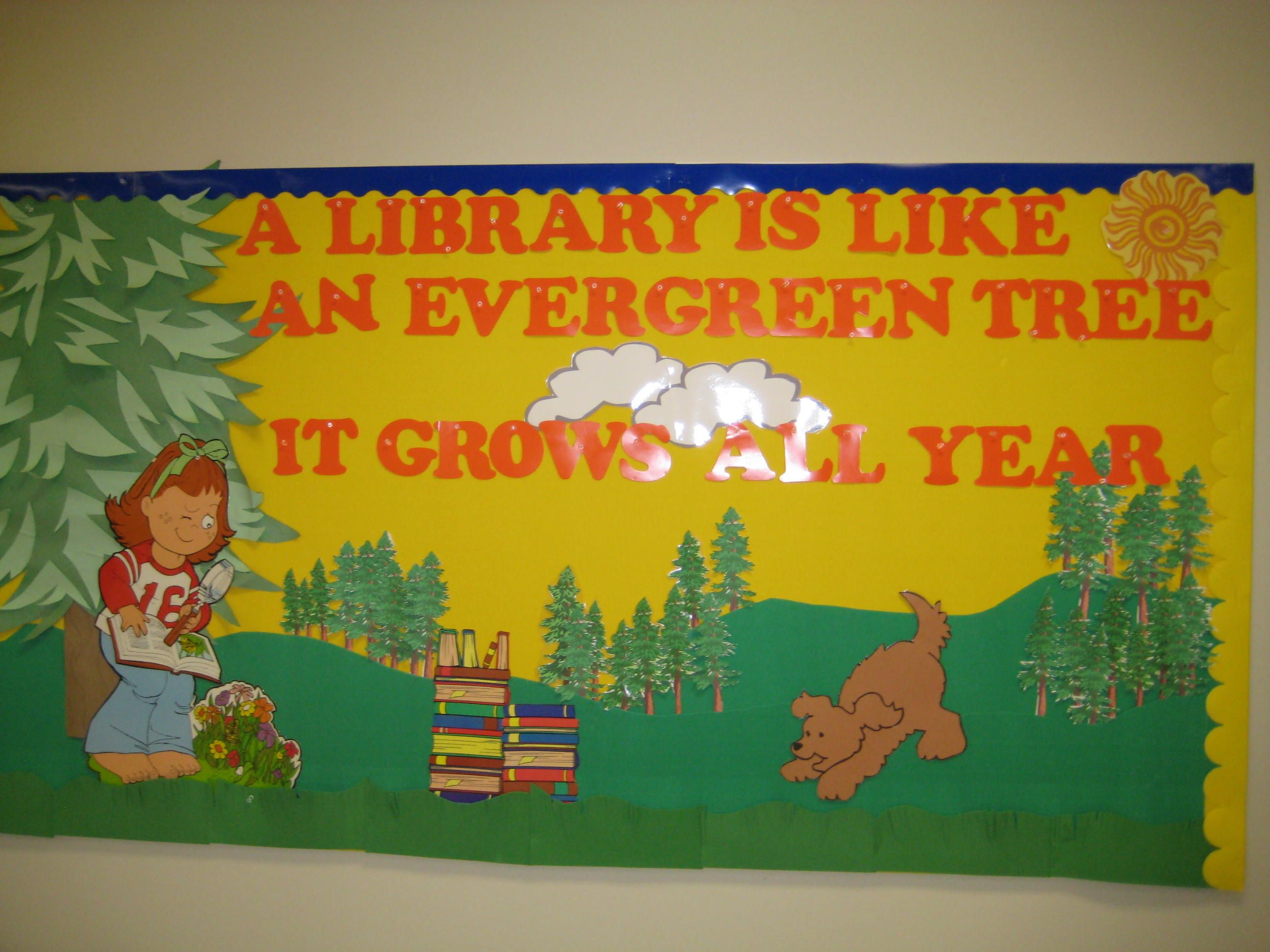 Great site for library bulletin boards | Library Displays & Bulletin ...