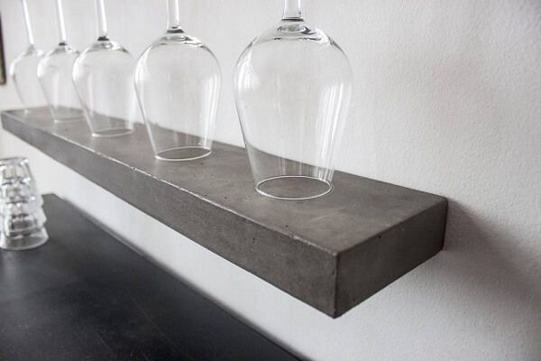 Wandplanken Van Beton : Lyon beton sliced s wandplank van beton 60x12x4cm huis design