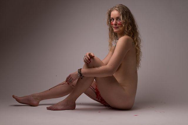 menstruation nude Linda