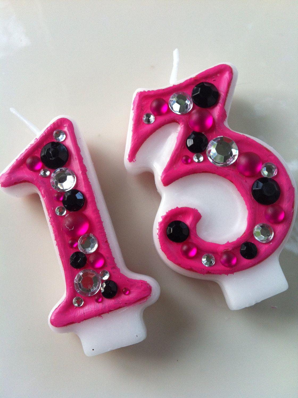 Pink And Black Candle Com Imagens Festa Monster High Festa Vela