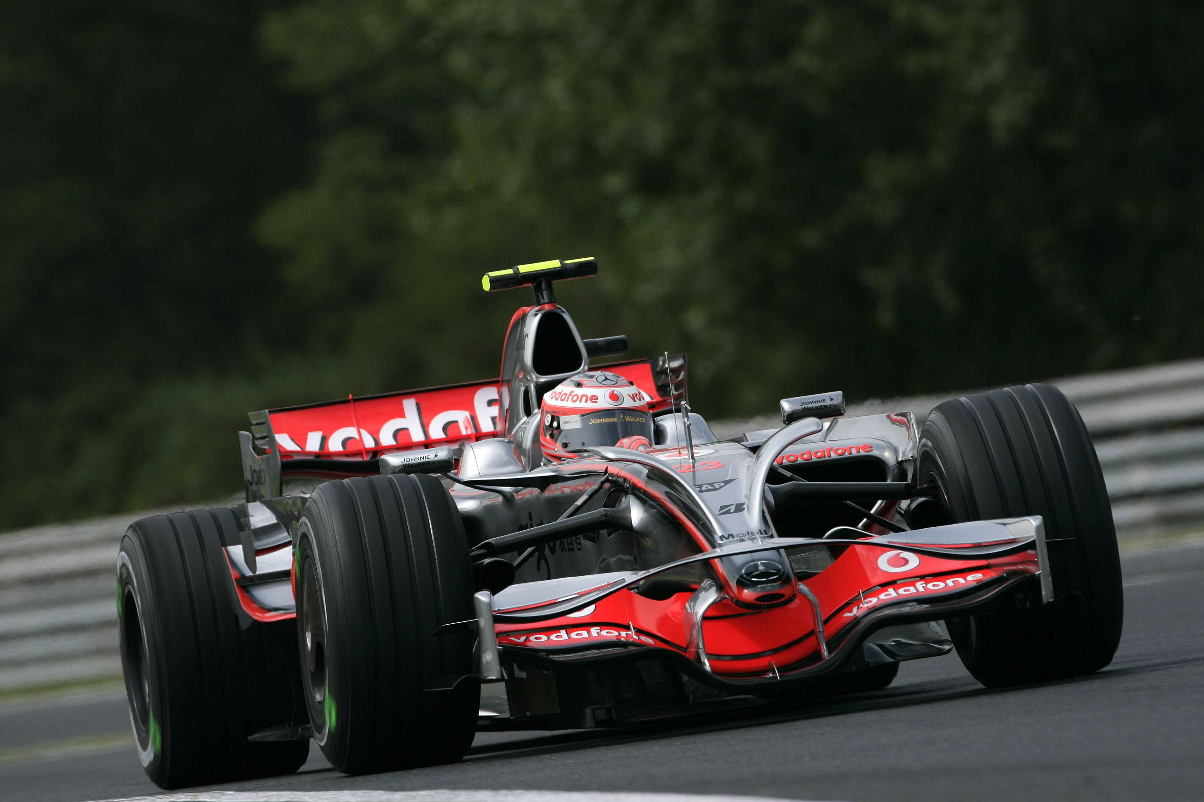2008 McLaren MP4/23 - Mercedes (Heikki Kovalainen ...