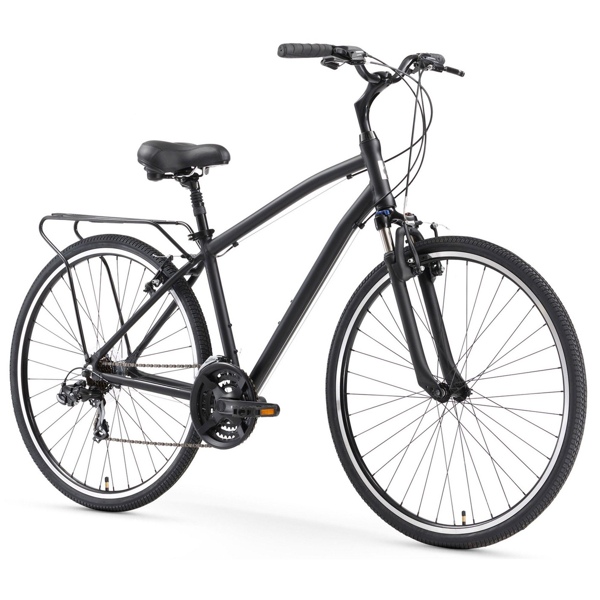 Sixthreezero Body Ease Men S 21sp Comfort 26 Hybrid Bike Matte