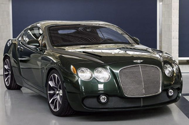 Bentley Continental GT Speed Zagato (2008)