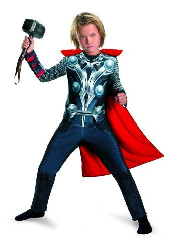 Avengers Thor Muscle Costume - The Avengers Costume Halloween Kids - halloween kids costume ideas