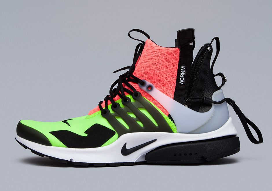 ACRONYM Nike Presto Mid Release Info SneakerNewscom Sneakers Style Running SneakersRunning Shoes