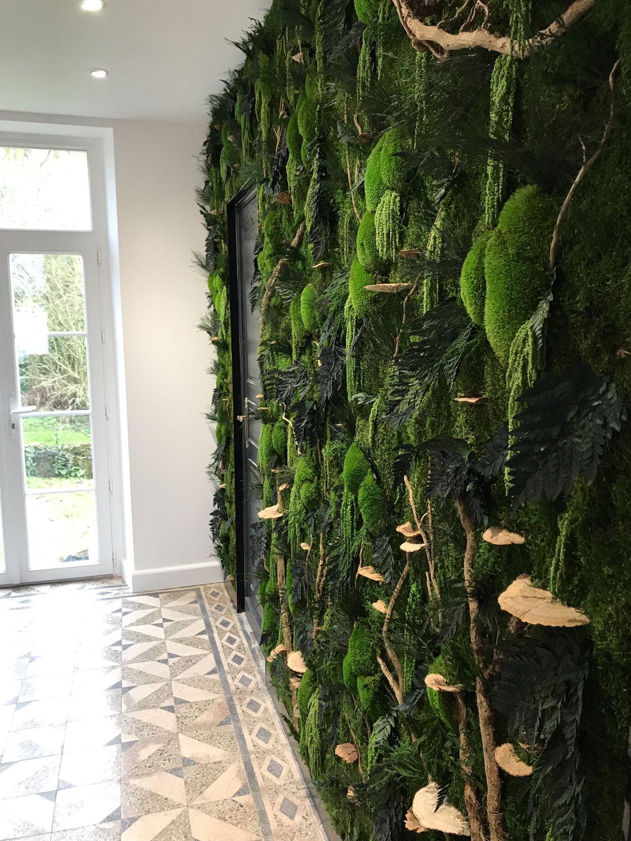 Creation Mur Vegetal Exterieur l'ère végétale, indoor vegetal design. la décoration d