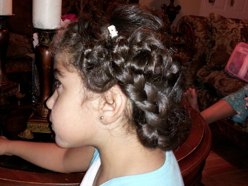 Beautifull great hairstyle for kids