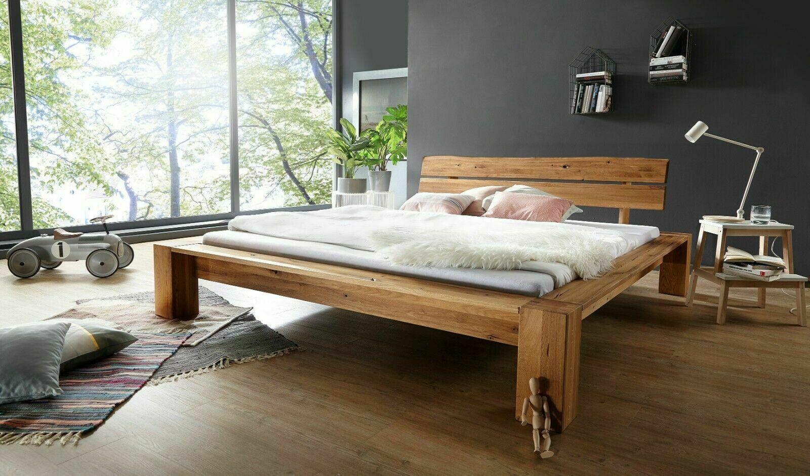 Bett Be 0286 Wildeiche Geölt Kopfteil Baumkante Schlafzimmer 180x200 Cm Holzbett Ebay In 2021 Massivholzbett Haus Bett