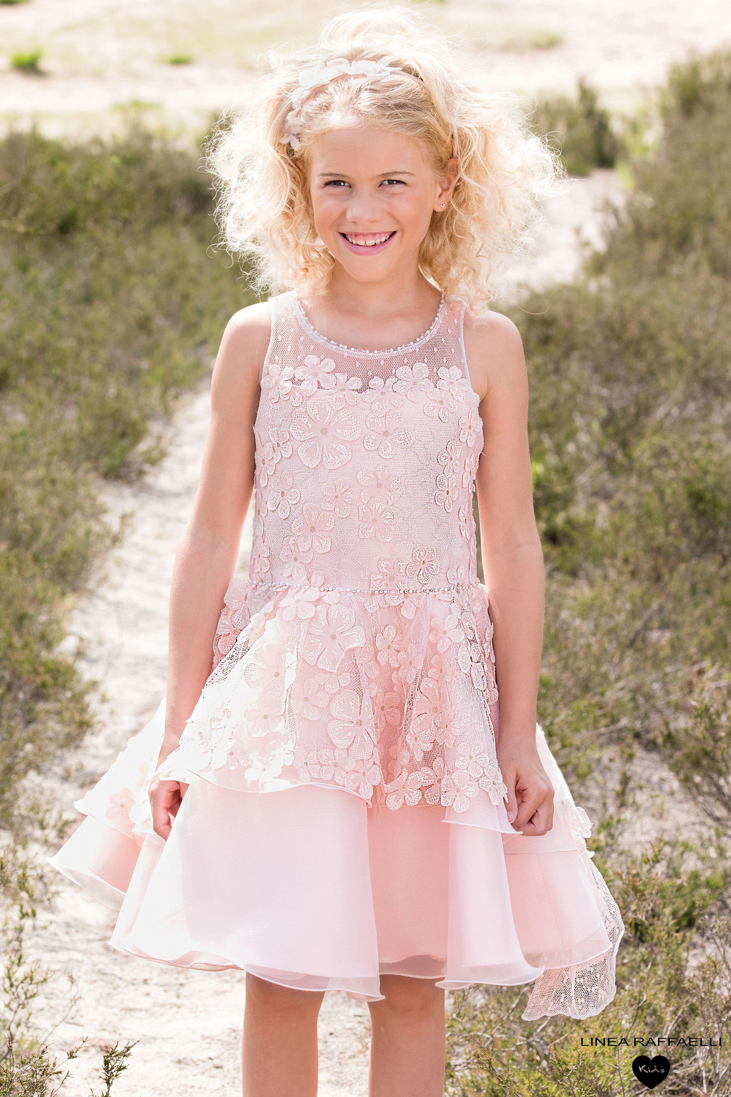 Nieuw LR - kids in 2020   Jurken, Kinderen jurk, Jurken voor bloemenmeisjes SK-89