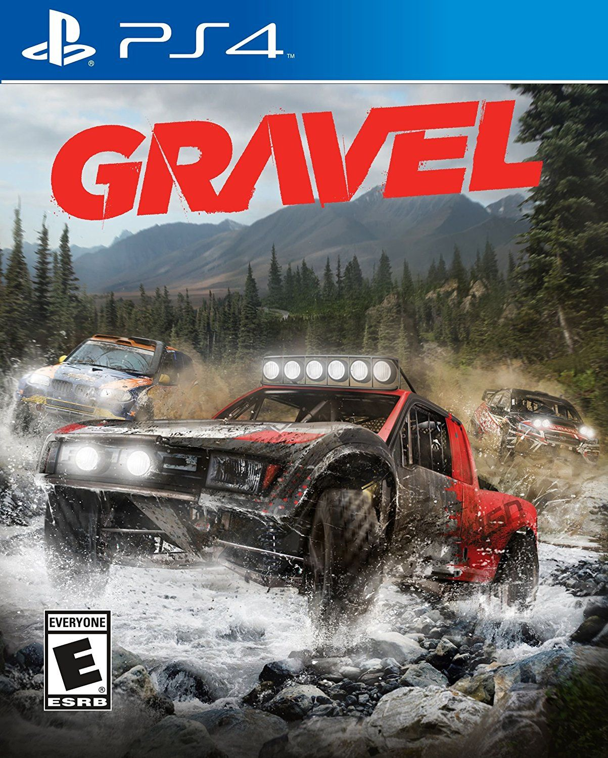 Gravel Game Cover PS4 Standard