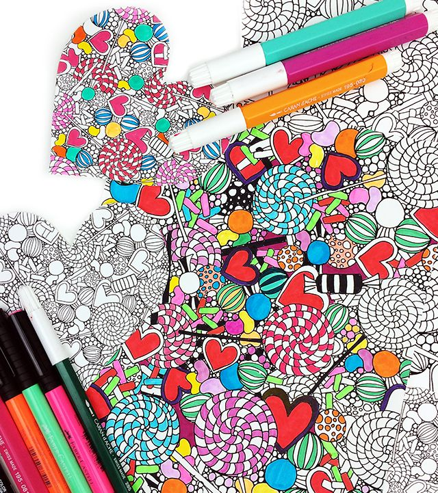 free candy coloring pages alisaburke Free candy Free