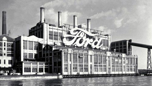 Production Began At Fords Dagenham Plant In East London Then