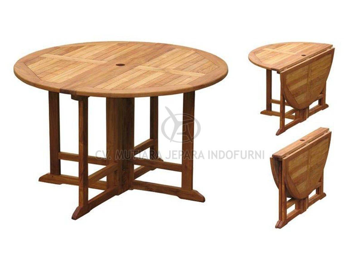 Round Gateleg Table 120cm