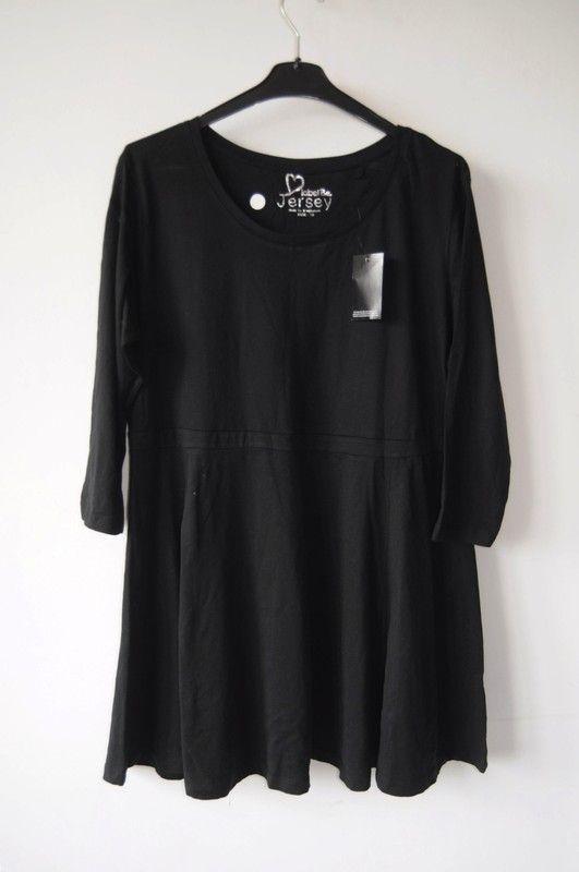 2367ede8aa4 Label be sukienka tunika czarna bawełniana r. 46 - vinted.pl   dress ...