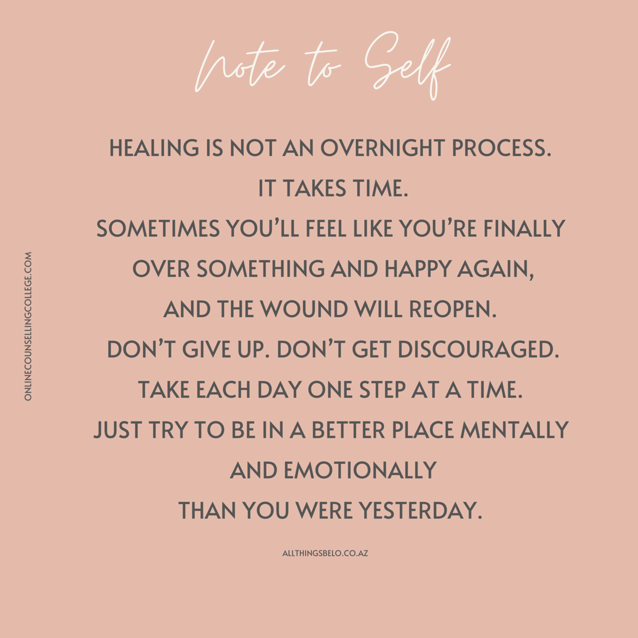 Quote On Healing From Trauma