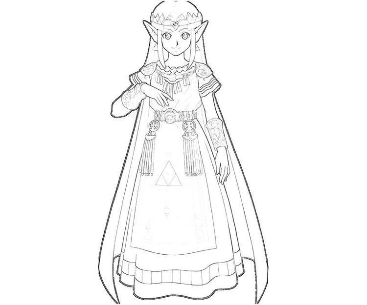 Princess Zelda Coloring Pages To Print Coloring Pages To Print Coloring Pages Cars Coloring Pages