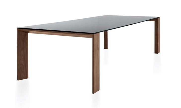 Tavoli Con Gambe Di Vetro : Tavolo con gambe e struttura in legno impiallacciato varie