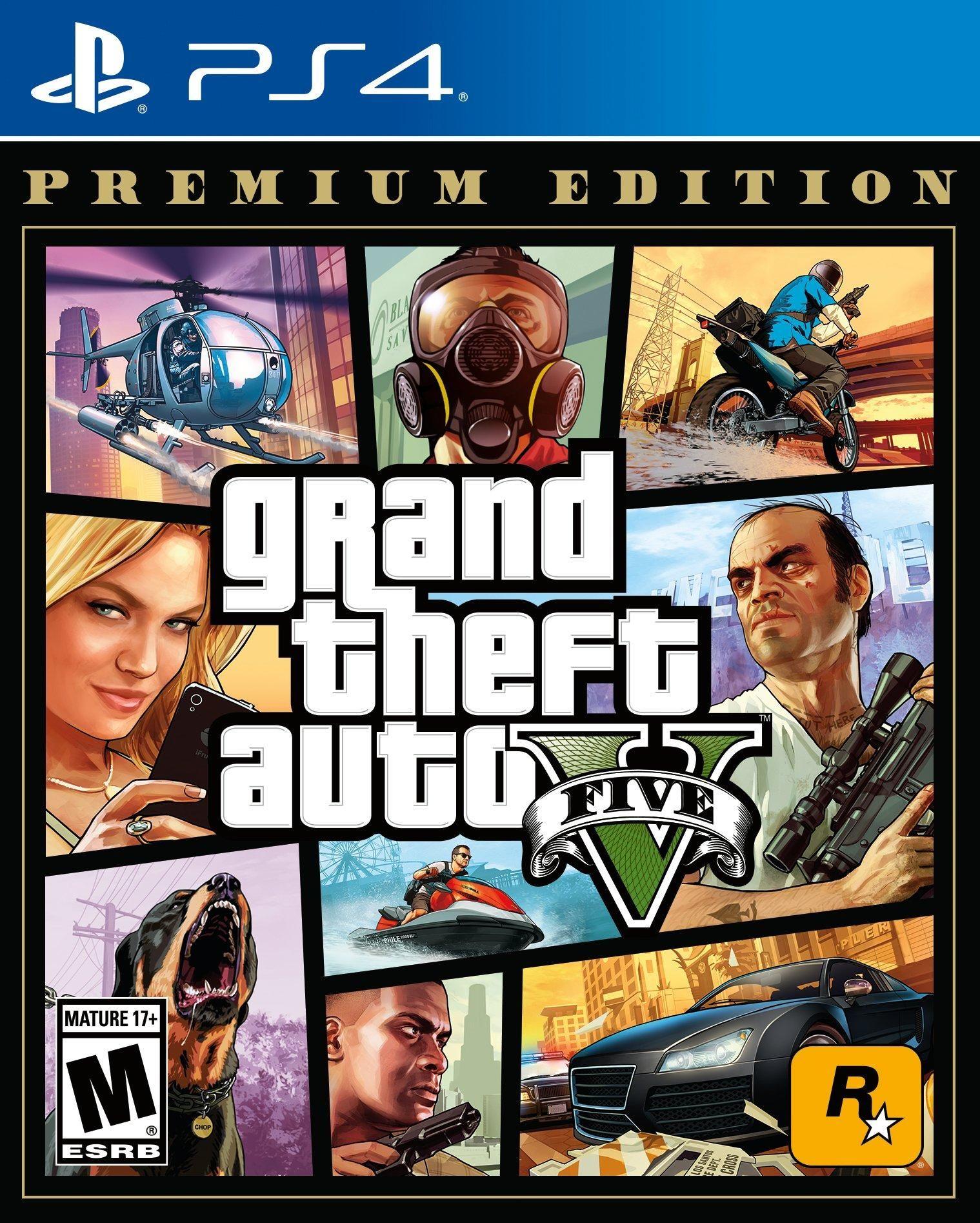 Grand Theft Auto V Premium Edition Playstation 4 Gamestop