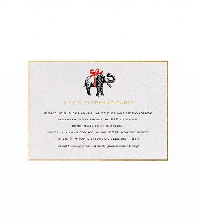Kate Spade for Paperless Post Wrapped Elephant
