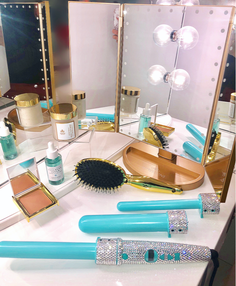 The Impressions Vanity® Touch™ Trifold LED Makeup Mirror