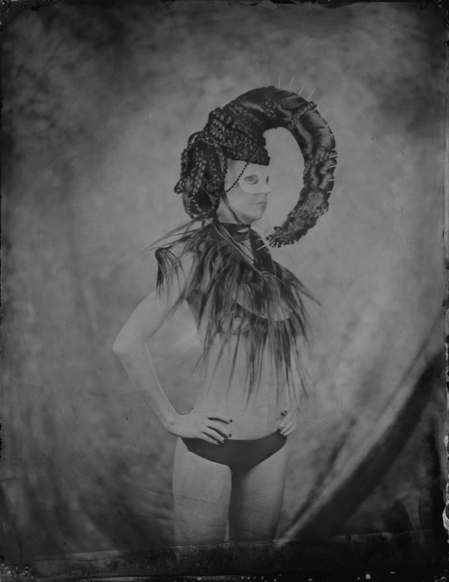 Wet Plate Collodion, Tintype 8x10
