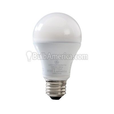 Ge 7w 120v A Shape A19 2700k White Led Light Bulb Light Bulb White Led Lights Bulb